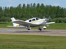 airplane landing flare